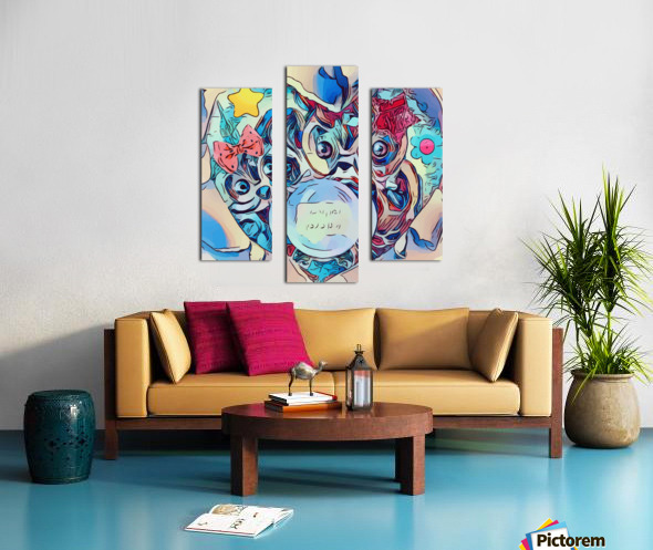 The Foretelling  Canvas print