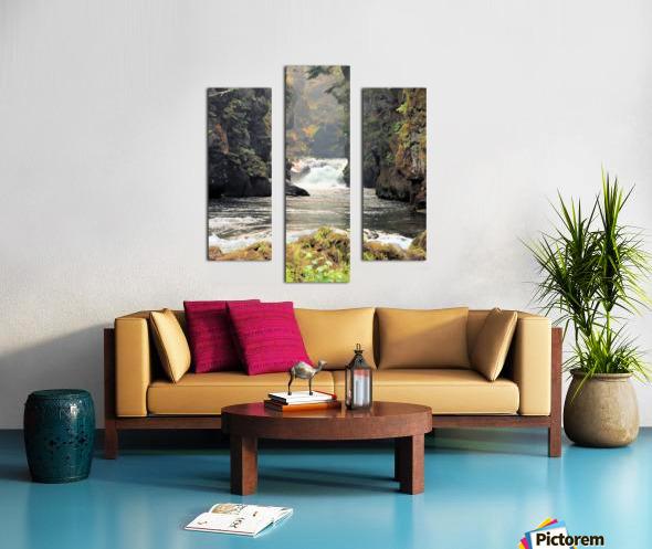 Rogue River Canyon Canvas print