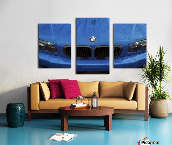 BMW BLU REIGN Canvas print