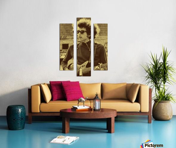 Bob Dylan  American singer Collection 3  Canvas print