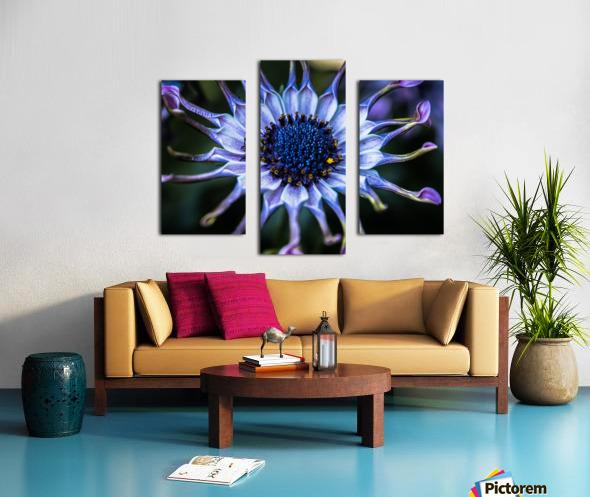 purple alien Canvas print