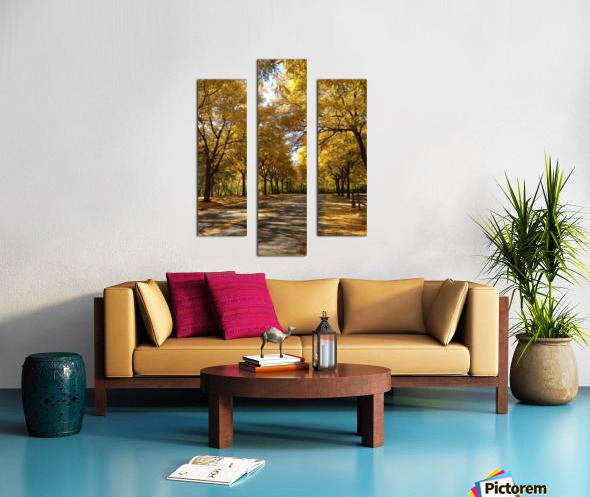 Autumn on Olivers End Canvas print