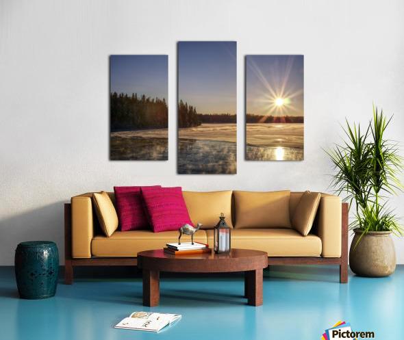 lac Sebastien Canvas print