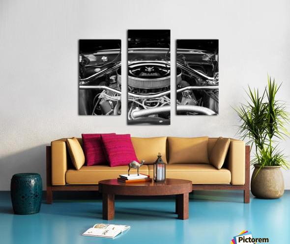 351 Mustang Canvas print