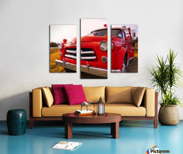Pompier Canvas print