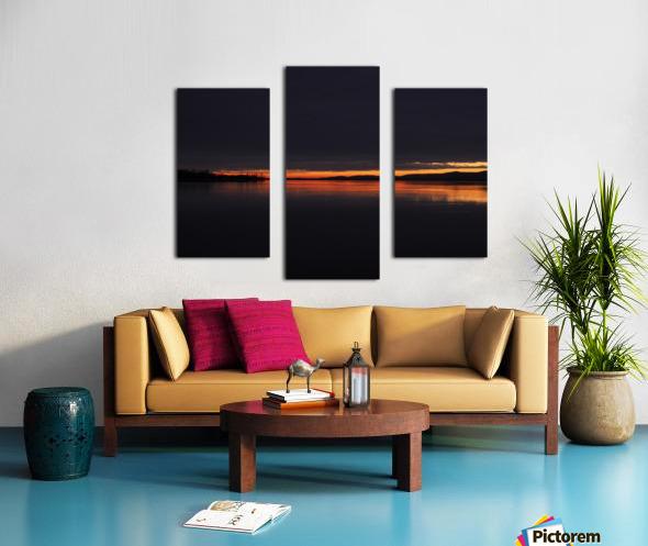 coucher flamboyant Canvas print