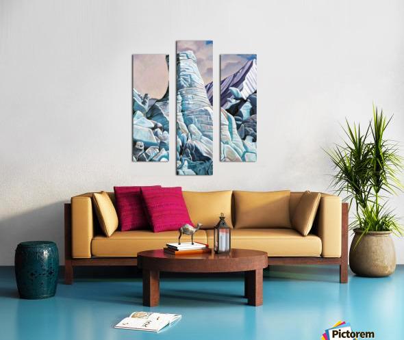 Glacier 3 Canvas print