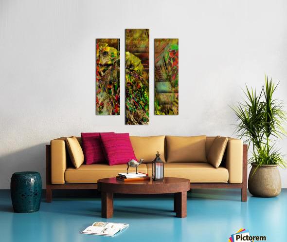 Stash Canvas print