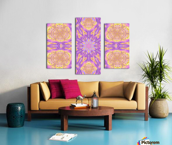 Lotus Of The Sky Of Blue 2 Canvas print