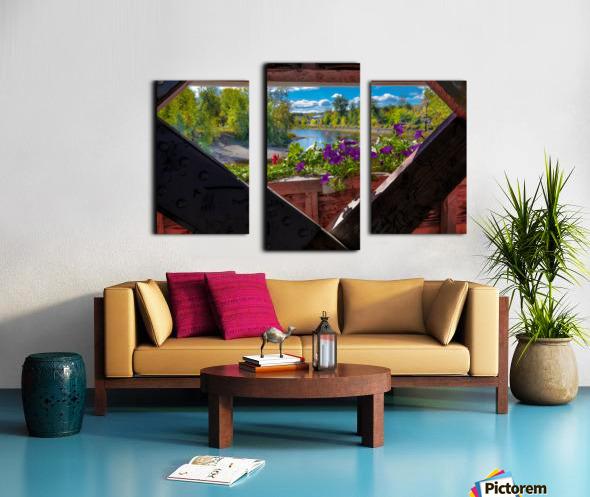 Amqui Pont Beausejour 4 Impression sur toile