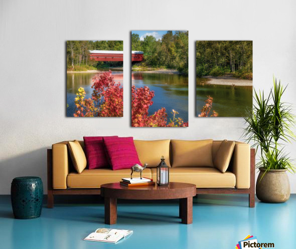 Amqui Pont Beausejour 3 Impression sur toile