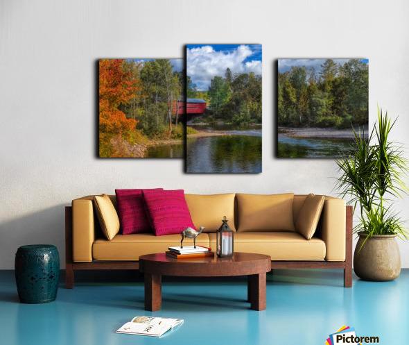 Amqui Pont Beausejour 2 Impression sur toile