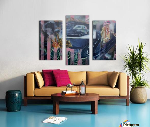 Jungle Petes Tavern Canvas print