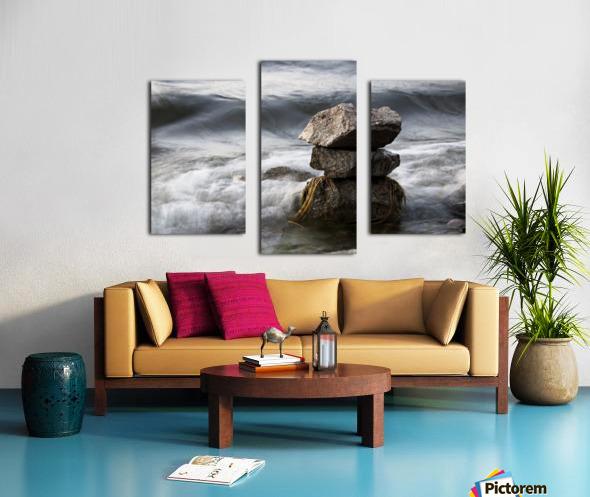 Desktop Canvas print