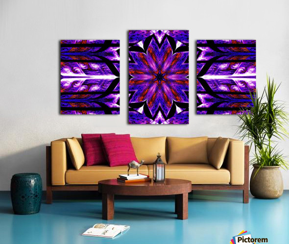 Lotus In Glow 14 Canvas print