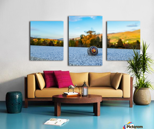 One for the Ring-- Autumn Canvas print