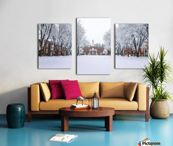 Upper Parade Ground- Winter Canvas print