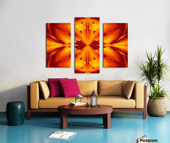Fire Flowers 109 Canvas print