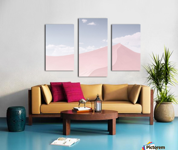 Powder Canvas print