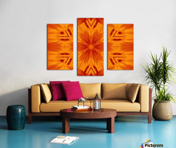 Fire Flowers 121 Canvas print