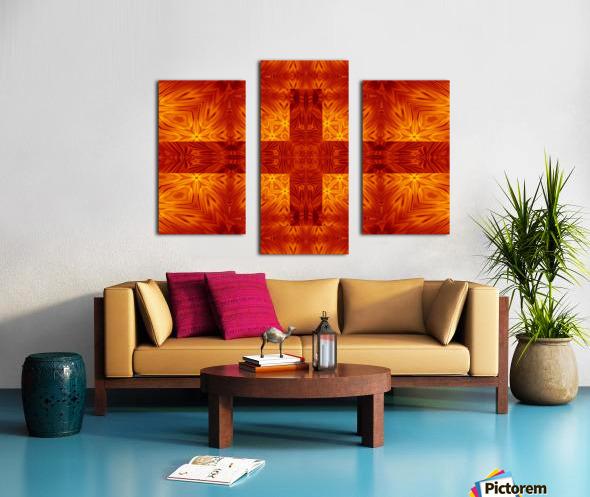 Fire Flowers 151 Canvas print