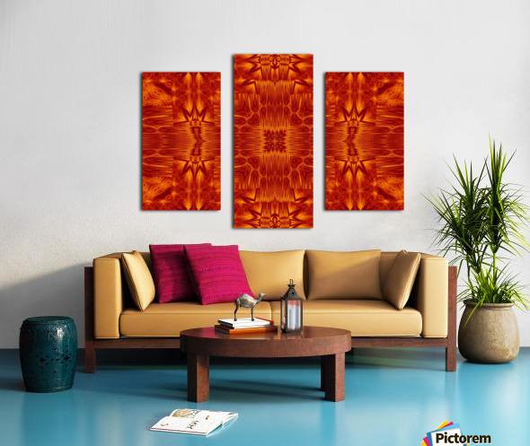 Fire Flowers 218 Canvas print