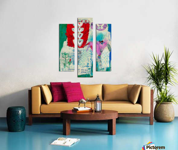 Yesterday You Said You Love Lilies Canvas print