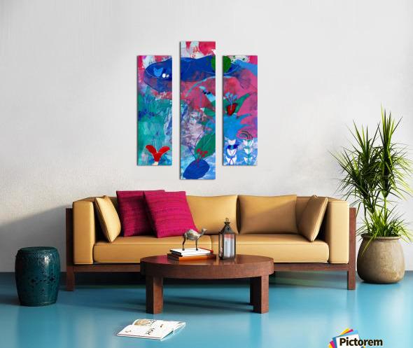 Pearl Seeker Canvas print