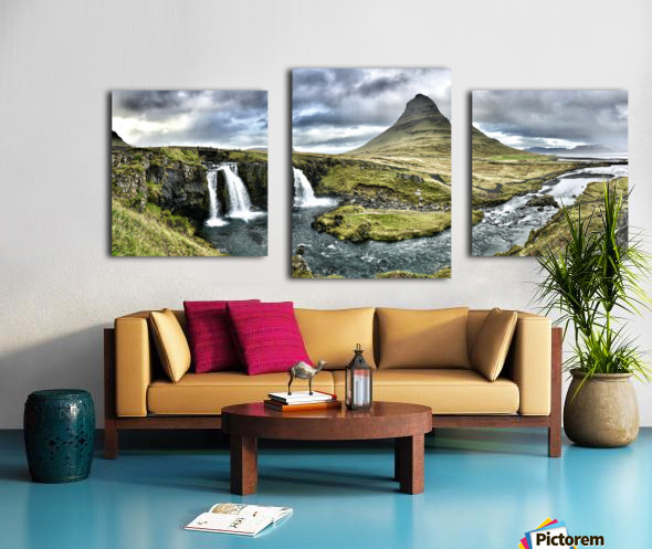 Kirkjufell Canvas print