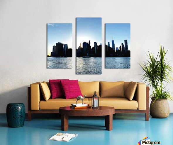 Before the Lights Come On Canvas print