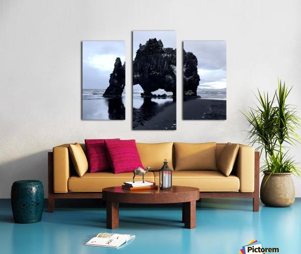 Hvitserkur Canvas print