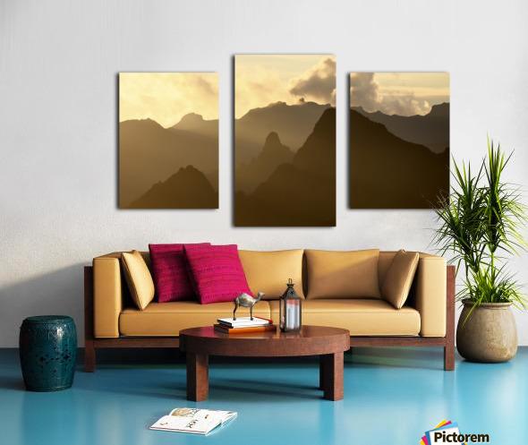 Kilimanjaro at Dusk Canvas print