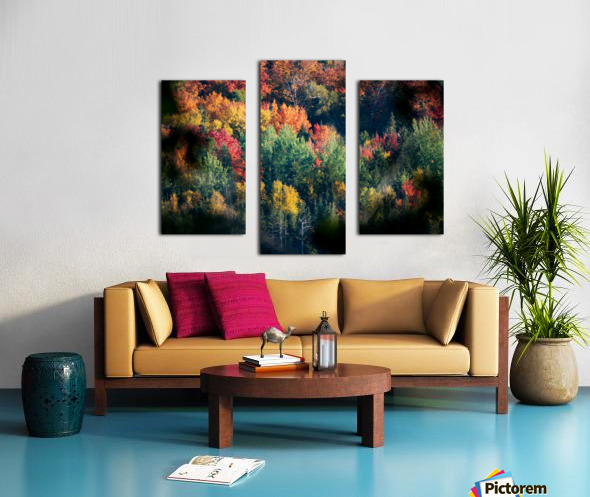 autumn abstract view Canvas print
