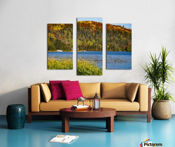 Lax Lake Mn Canvas print