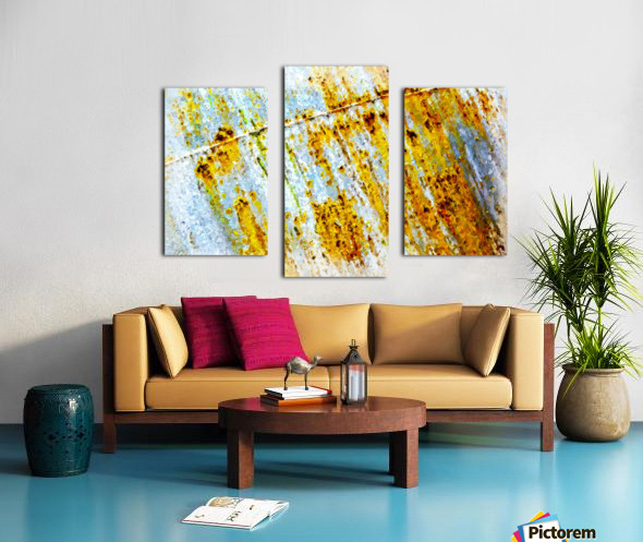 Rusty Barrel Canvas print