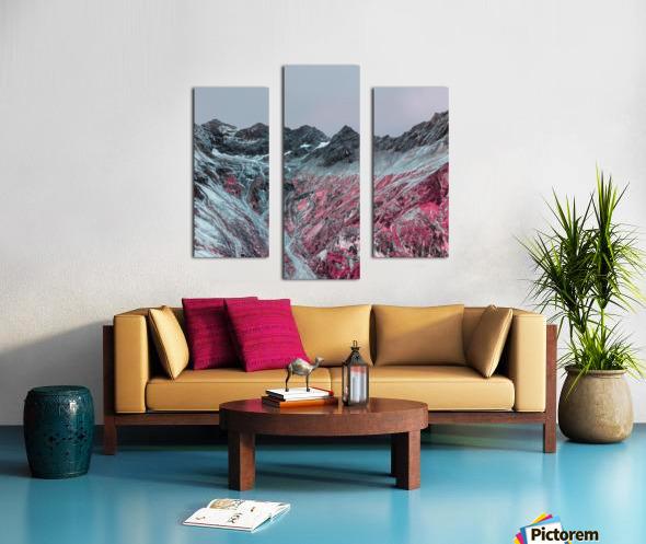 Color change Canvas print