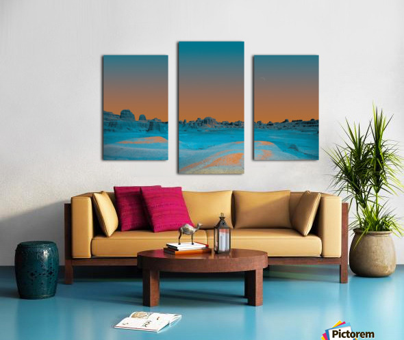 Ghost City Canvas print