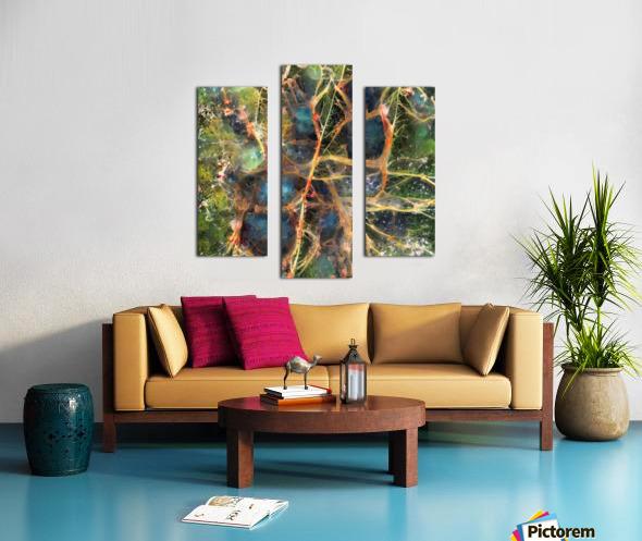 Composicion120 Canvas print