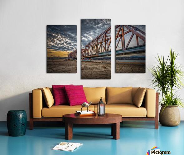 Pont de fer Haldimand Canvas print