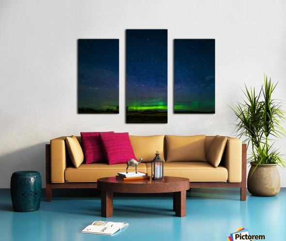 Northern Lights MN Canvas print