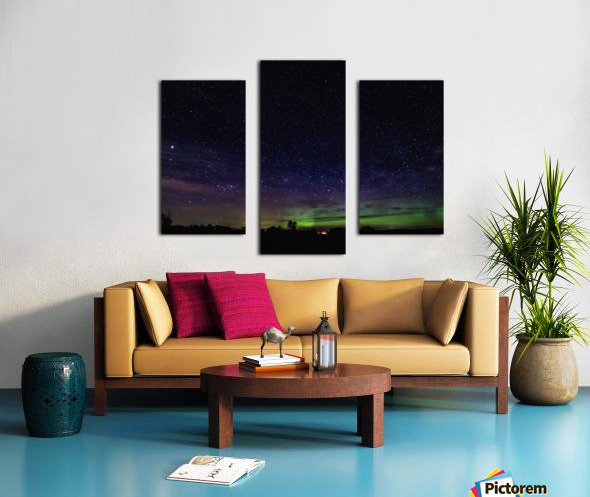 Northern Lights MN 2 Canvas print