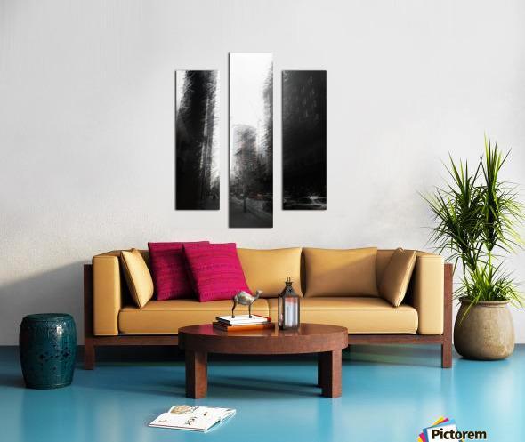Skyscraper black and white  Canvas print