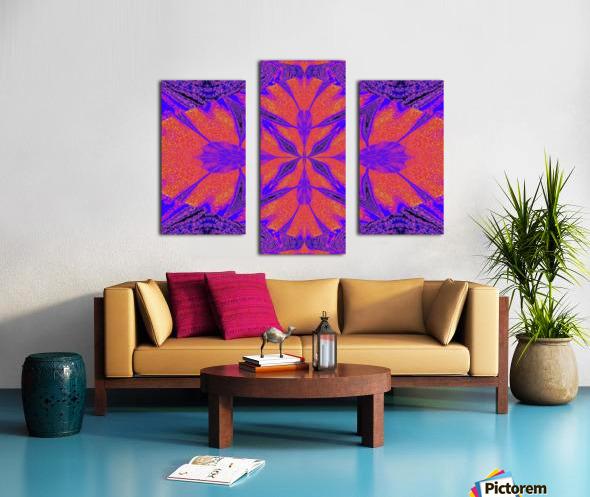 Purple Butterfly In Sunshine 1 Canvas print