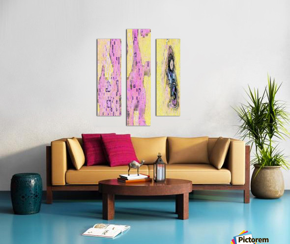 Watching Floidy Canvas print