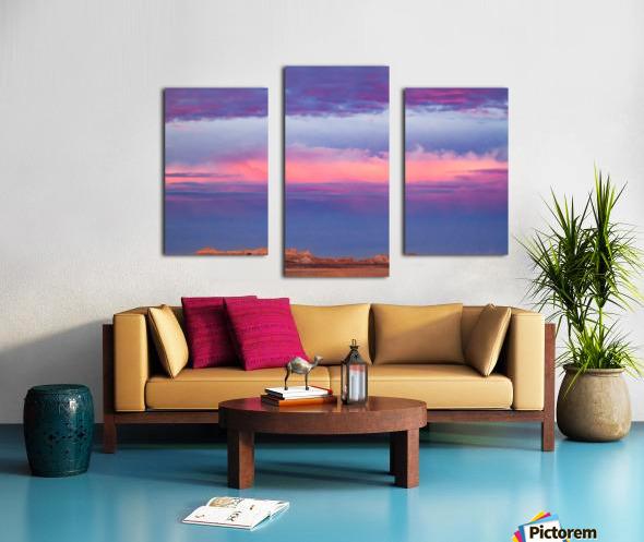 Light Banding Canvas print