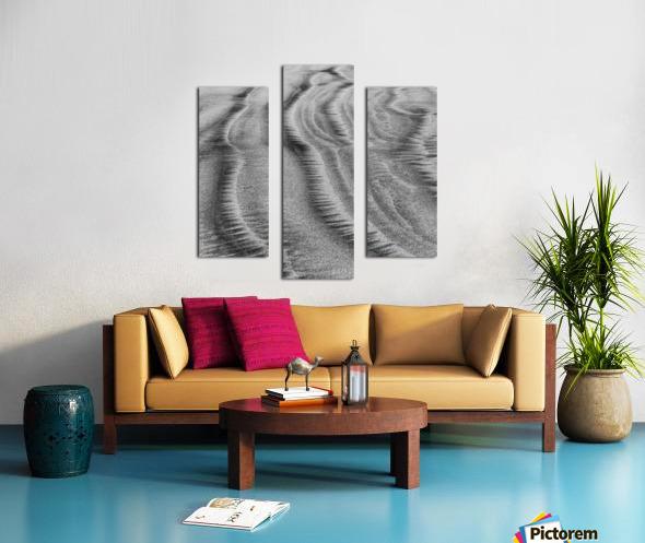 Sandy Waves Canvas print