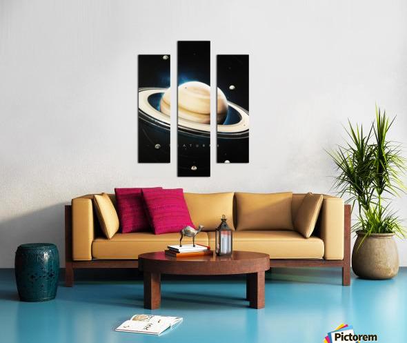 Destination Saturn Canvas print