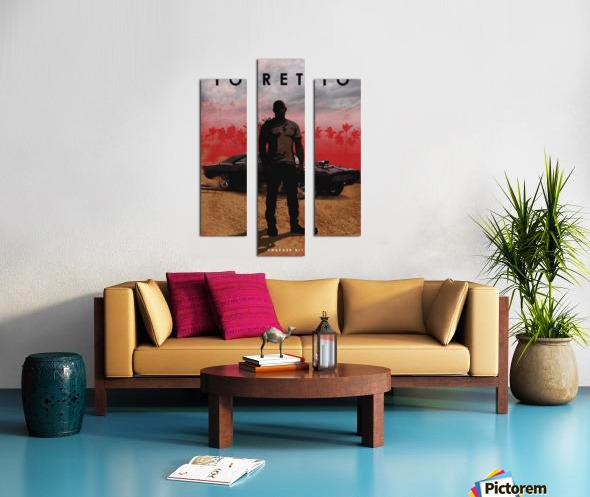 Dominic Toretto Canvas print
