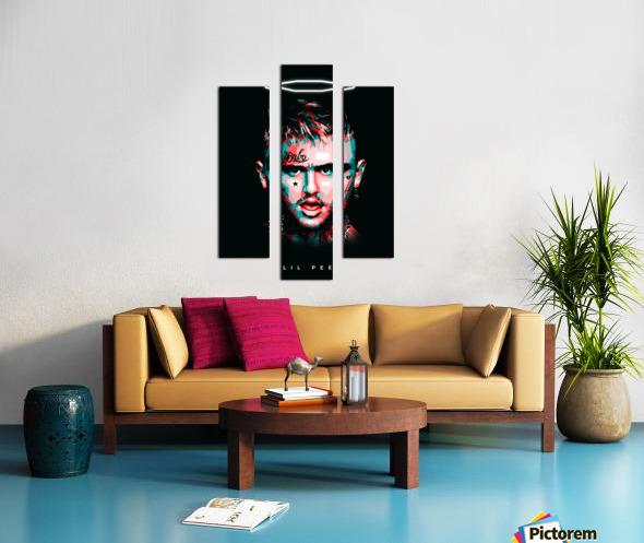 LIL PEEP Canvas print