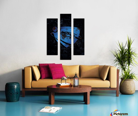 Rocket League Canvas print